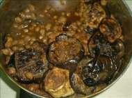 מתכון לתבשיל מנזלה עם חציליםוחומוס