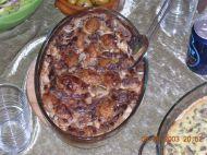 """מתכון לתפו""""א בשמנת וערמונים או פטריות (סוג שלגרטן)"""