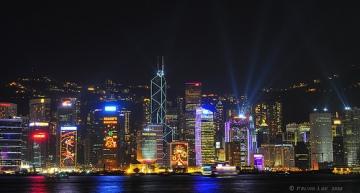 """""""סינגפור של המזרח התיכון"""", ביבי. (בתמונה זו הונג קונג)"""
