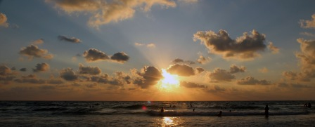 שקיעה בתל אביב, אני צילמתי